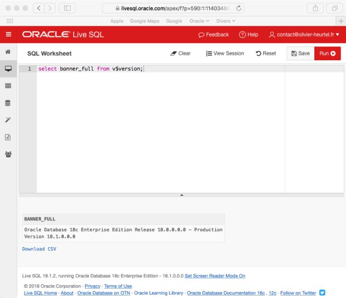 Oracle Database 18c | Mon DBA